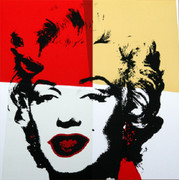 Andy Warhol Gold Marilyn Monroe Sunday B Morning Serigraph Silkscreen #4