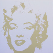 Andy Warhol Gold Marilyn Monroe Sunday B Morning Serigraph Silkscreen #7
