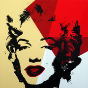 Andy Warhol Gold Marilyn Monroe Sunday B Morning Serigraph Silkscreen #8