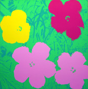 Andy Warhol Fab Flowers Sunday B Morning Serigraph Silkscreen Print #5