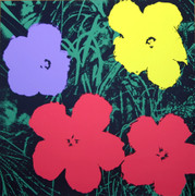 Andy Warhol Fab Flowers Sunday B Morning Serigraph Silkscreen Print #10
