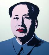 Andy Warhol Mao #5 Sunday B Morning Serigraph Silkscreen Print