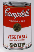 Andy Warhol Campbell Soup Can (Vegetable) Sunday B Morning Silkscreen Print