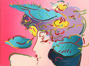 Hand Signed Flower Spectrum By Peter Max Retail $4.2K