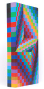 Hand Signed Axo 99 By Victor Vasarely Retail $42K