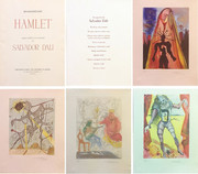 Hand Signed Hamlet Suite By Salvador Dali Retail $40K