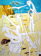 Signed Infraterrestrials Adored By Salvador Dali Retail $9K