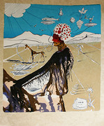 Hand Signed The Earth Goddess (The Chef) By Salvador Dali Retail $7.5K