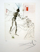Hand Signed Henry V (A) By Salvador Dali Retail $7.5K
