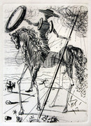 Don Quixote By Salvador Dali Retail $2.2K