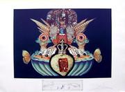 Hand Signed Monarchial Flesh Tones By Salvador Dali Retail $3K