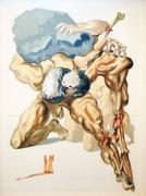 Inferno Canto 7 By Salvador Dali