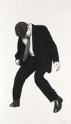 Hand Signed James By Robert Longo