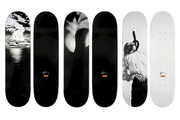 Set of 3 Skateboard Decks by Robert Longo