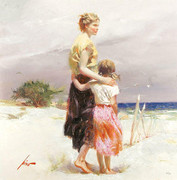 Hand Signed Seaside Summer By Pino Retail $3K
