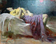 Hand Signed Afternoon Repose By Pino Retail $2.6K