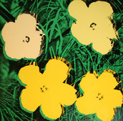 Signed Flowers FS II.72 By Andy Warhol Retail $75K