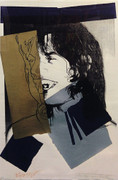 Hand Signed Mick Jagger FS II.142 By Andy Warhol