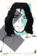 Hand Signed Mick Jagger FS II.138 By Andy Warhol Retail $80K