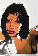 Hand Signed Mick Jagger FS II.141 By Andy Warhol