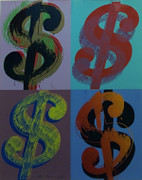 Hand Signed $ (Quadrant) FS II.283 By Andy Warhol Retail $395K