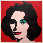 Hand Signed Liz FS II.7 By Andy Warhol Retail $120K