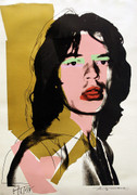Hand Signed Mick Jagger FS II.143 By Andy Warhol Retail $130K