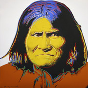 Hand Signed Geronimo FS II.384 By Andy Warhol Retail $50K