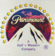 Hand Signed Ads: Paramount FS II.352 By Andy Warhol Retail $70K