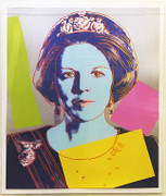 Hand Signed Queen Beatrix FS II.340 By Andy Warhol
