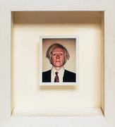 Polaroid Self Portrait By Andy Warhol Framed Retail $75K
