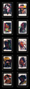 Hand Signed Ladies & Gentlemen (Portfolio Of 10) Invitation Framed By Andy Warhol Retail $25K