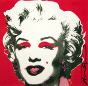 Hand Signed Marilyn (Announcement) By Andy Warhol Retail $23.5K