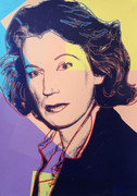 Hand Signed Mildred Scheel FS II.238 By Andy Warhol Retail $11K