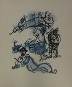 Dans Le Village By Marc Chagall Retail $3.5K