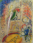 Le Cirque By Marc Chagall Retail $3.5K