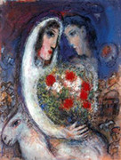 Marriage By Marc Chagall Retail $2.4K