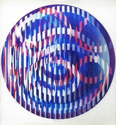 Hand Signed Infinite Rainbow By Yaacov Agam Retail $3.2K