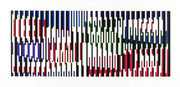 Hand Signed Untitled By Yaacov Agam Retail $1.95K