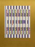 Hand Signed Shimon By Yaacov Agam Retail $1.2K