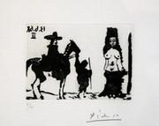 Hand Signed La Celestine (Bloch 1636) By Pablo Picasso Retail $18K