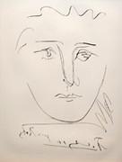 Plate Signed L'age De Soleil - Pour Roby by Pablo Picasso Retail $1.65K
