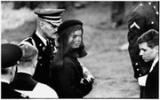 Hand Signed Portfolio I: Jacqueline Kennedy At JFK's Funeral By Elliott Erwitt Retail $7.5K