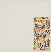 "Hand Signed #4, From 6 Lithographs (After ""Untitled 1975"") By Jasper Johns Retail $24K"