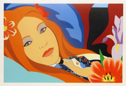 Hand Signed Lulu By Tom Wesselmann Retail $16.3K