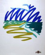 Seascape Round By Tom Wesselmann