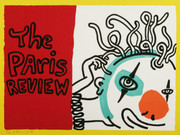 Signed Paris Review By Keith Haring Framed Retail $16.5K