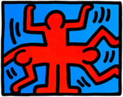 Pop Shop VI (4) By Keith Haring Framed Retail $10K