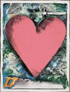 Hand Signed A Heart At The Opera By Jim Dine Retail $24K