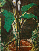 Hand Signed Calla Lilies, Verona II By Jim Dine Retail $9K